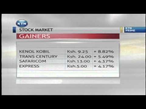 Stock Market Report on KTN Friday Briefing 16th May 2014