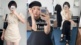 쇼핑몰 패션하울 | 심플하고 모던한 여름패션 (모던앤코…