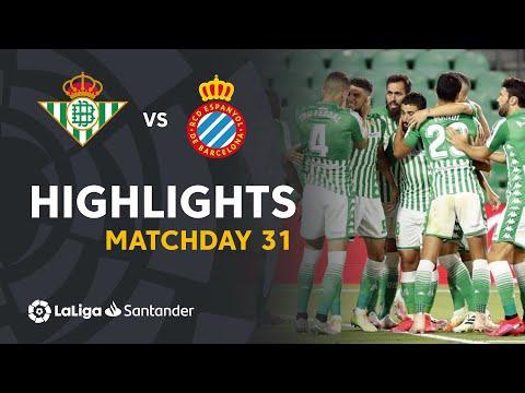 Betis Espanyol Goals And Highlights