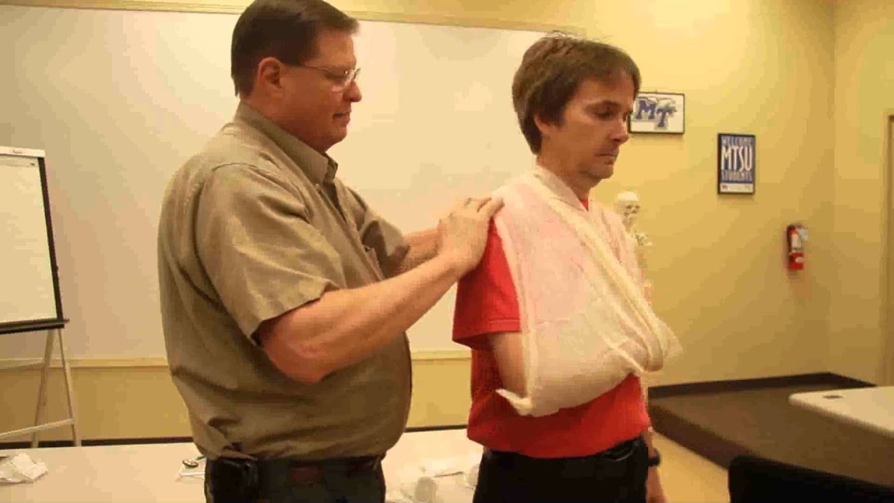 How to tie a sling 34