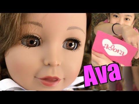 Adora Amazing Girls Doll Ava Soft Body Vinyl Fashion Play Toy