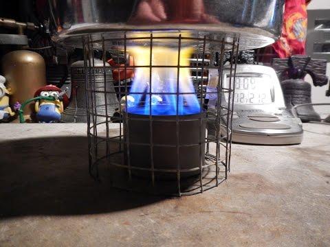 TOAKS Titanium Siphon Alcohol Stove - Boil Test