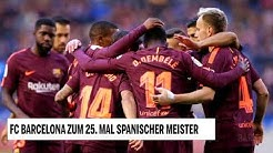 FC Barcelona erneut spanischer Meister