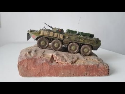 БТР-80 (Zvezda) 35 Scale (фотоотчет)