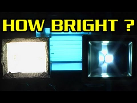 led vs halogen vs fluro work lights the watts lumens lighting scam youtube. Black Bedroom Furniture Sets. Home Design Ideas