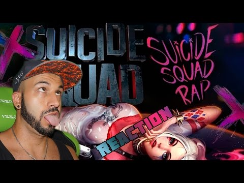 SUICIDE SQUAD RAP | KRONNO, ZARCORT, PITER G & CYCLO | VIDEO REACCION
