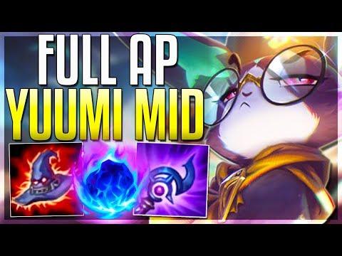 Is Full AP Yuumi Mid BETTER Than Support? Yuumi Mid Gameplay PBE | LoL