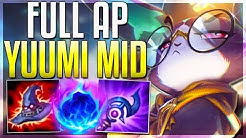 Is Full AP Yuumi Mid BETTER Than Support? Yuumi Mid Gameplay PBE | LoL