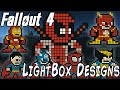 How to build a SuperHero Light Box Billboard in Fallout 4 (With Mods)   Tutorial