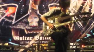 DREAMING by GILANG AGITAMA - Fretless Guitar (3rd ANNIVERSARY OF INDONESIAN GUITAR COMMUNITY 2012)