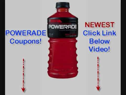 picture regarding Printable Powerade Coupons titled Powerade Discount coupons - Most up-to-date July Powerade Coupon Printable On-line 2012