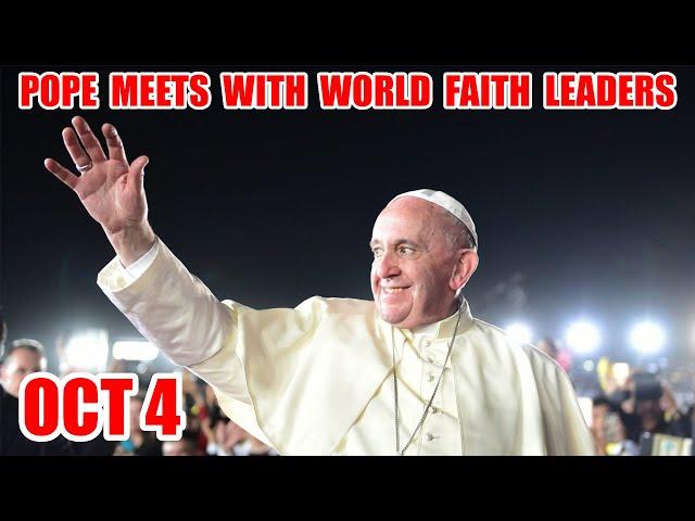 Oct 4: World Faith Leaders Meet At Vatican. First Amendment Day Sept 25. Dear Earth Global Concert