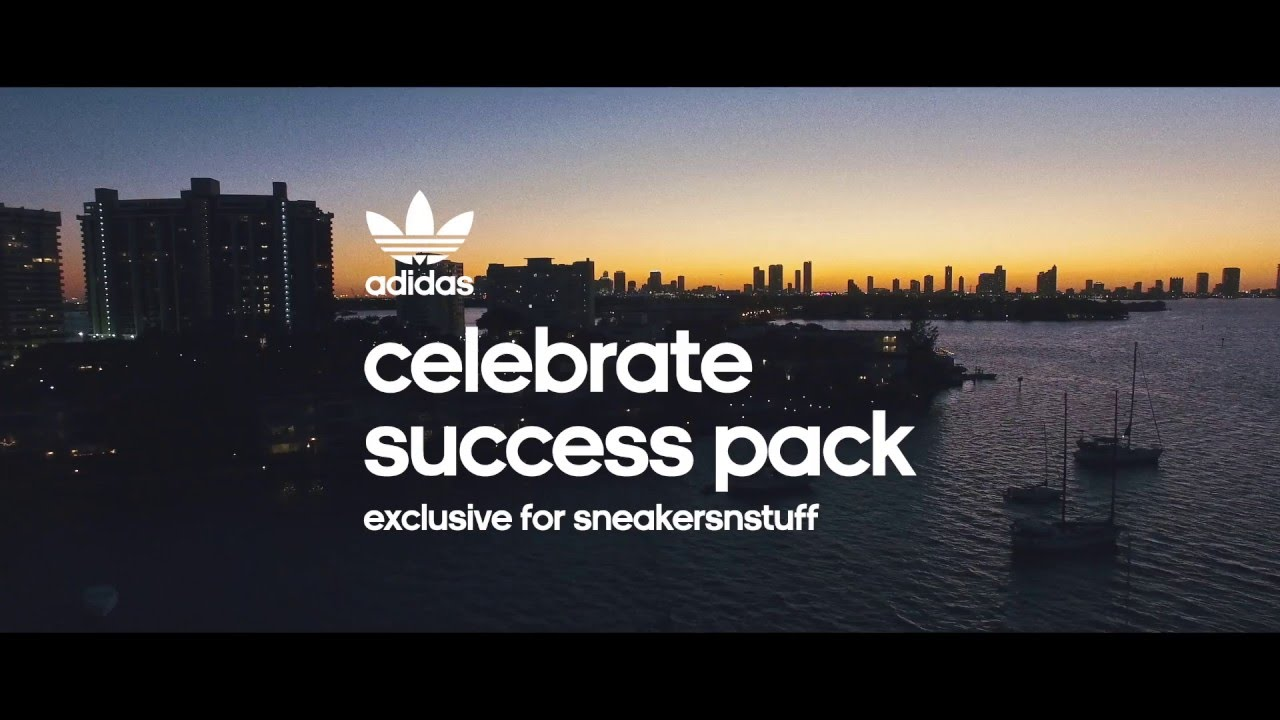 "super popular 6d365 2537b adidas Originals ""Celebrate Success"" Pack exclusive for Sneakersnstuff"