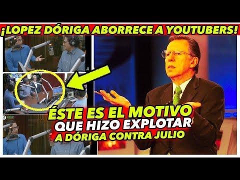 A López Dóriga NO LE GUSTÓ que Julio Astillero hablara de los YOUTUBERS