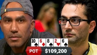 One Drop Champ Is FLOORED By This Huge River Bet
