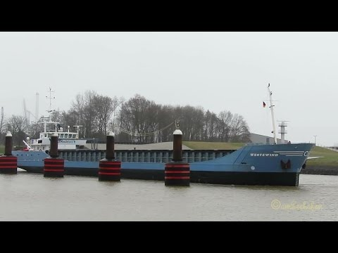 coaster WESTEWIND PBJC IMO 9201970 Emden cargo seaship merchant vessel KüMo