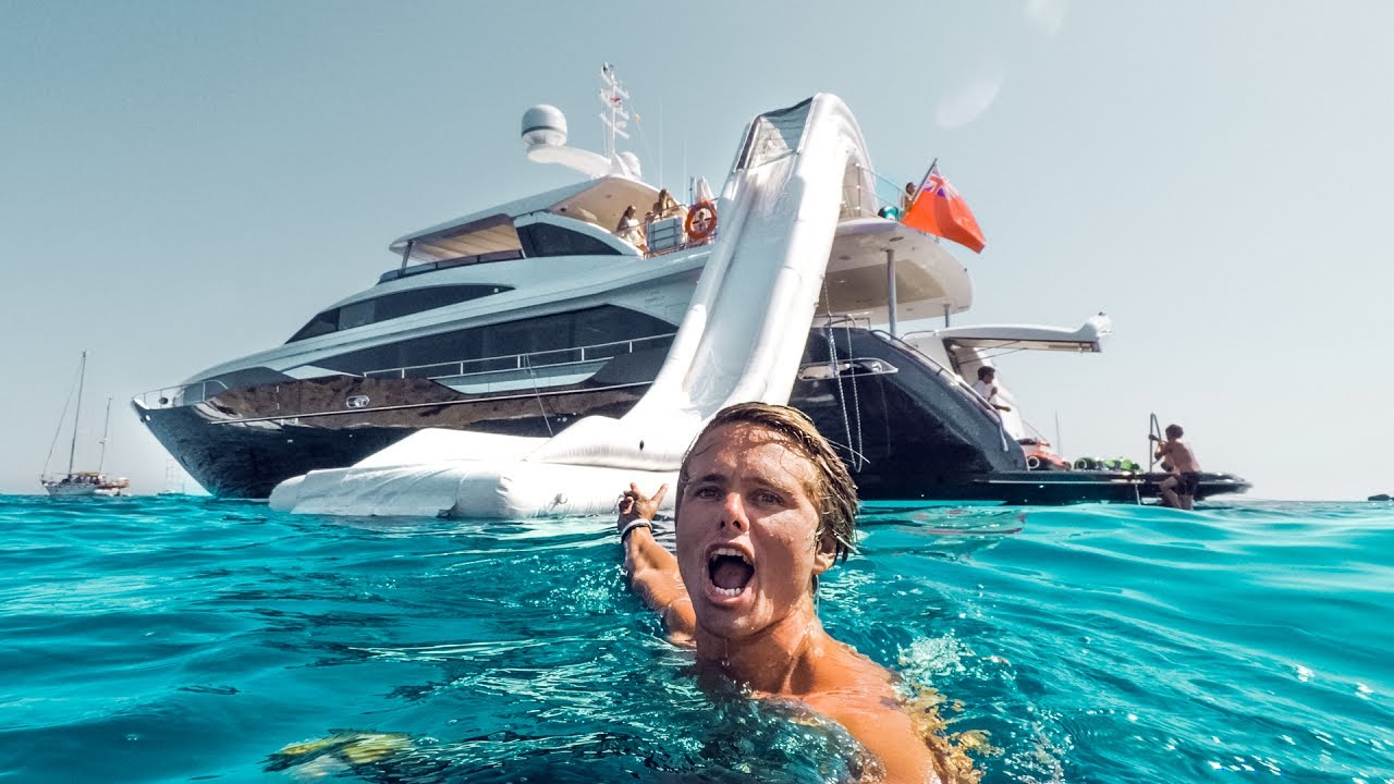 THE SUPER YACHT LIFE IN IBIZA! | VLOG² 50 - YouTube
