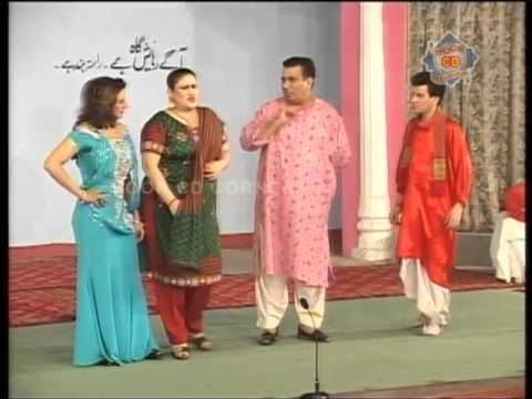 Best of Tariq Teddy pakistani punjabi stage drama clip 2014