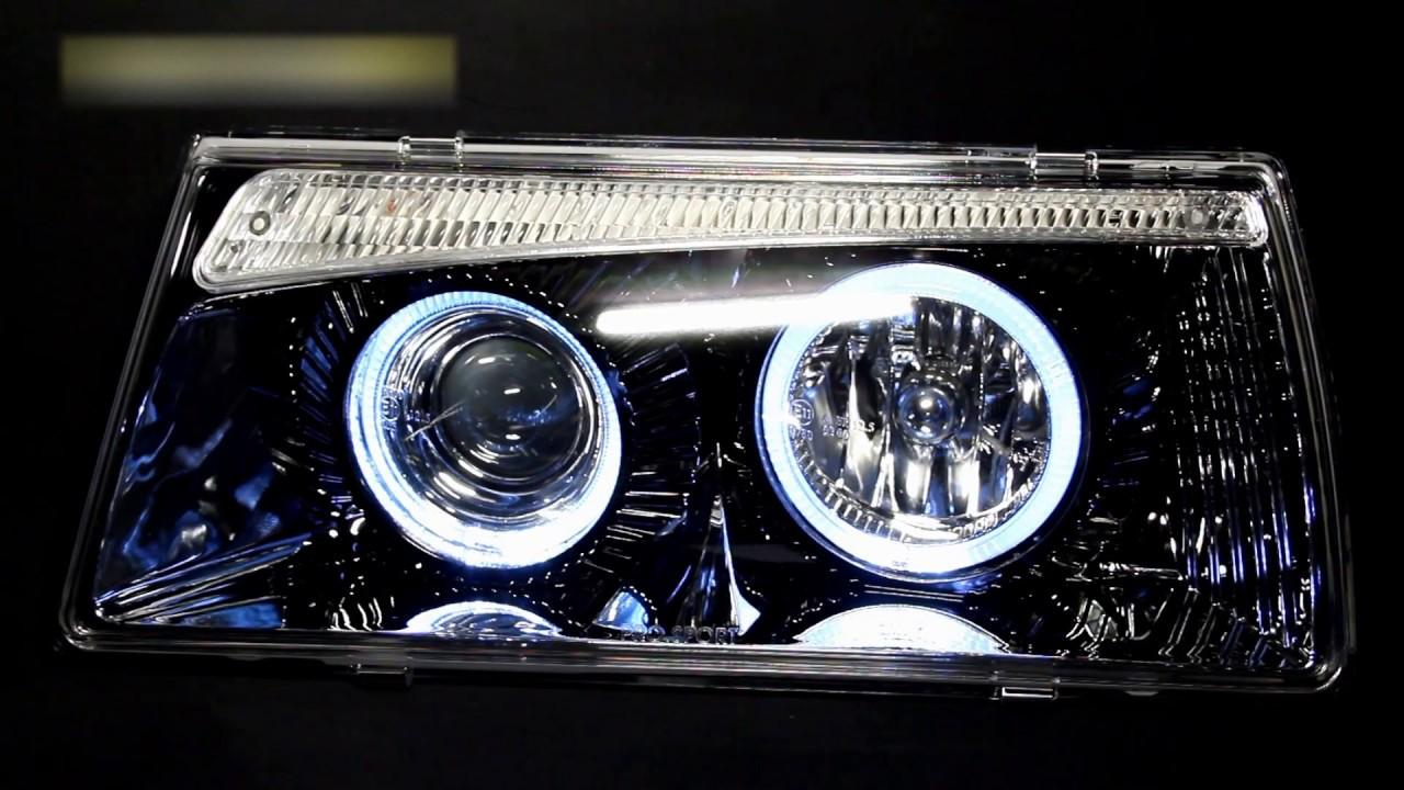 Задние светодиодные фонари ваз 2108 самодельные - YouTube