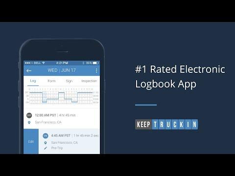 KeepTruckin Electronic Logbook - Apps on Google Play