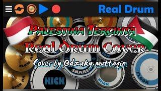 Palestina Tercinta ~ Shoutul Harokah { Real Drum Cover By @dzaky.muttaqin }