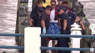 Escena del accidente donde murió el lanzador de los Marlins José Fernández   Univision