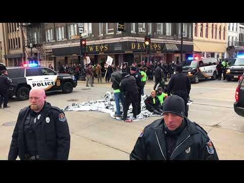 Randy Bryce gets arrested protesting for a clean DREAM Act