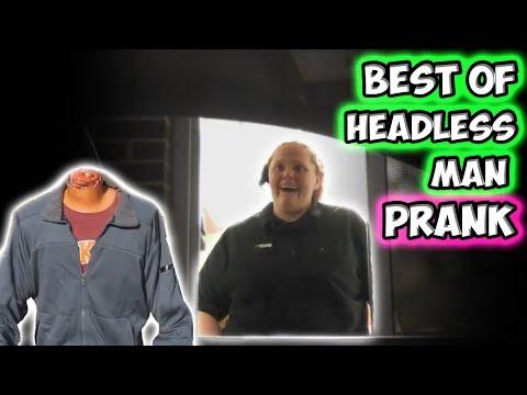 Best of Headless Man Prank!!!