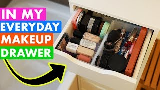 What's in My Everyday Makeup Drawer? Daily Go-to Products
