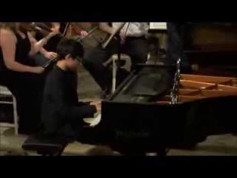 Beethoven Piano Concerto Nr 2:  Marc Yu with Vienna International Orchestra in HD