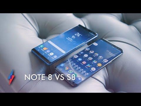 Galaxy Note 8 vs Galaxy S8 Plus - What
