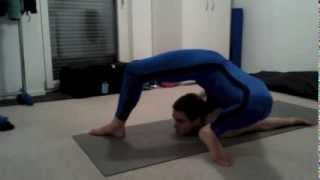 Nina Burri Contortion Training