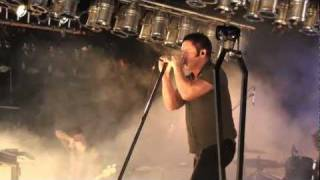 """Watch in HD 1080p** - Nine Inch Nails performs """"Sin"""". More intensity, smashed equipment, and anger... performed like it was '94 all over again! Amazing show!"""