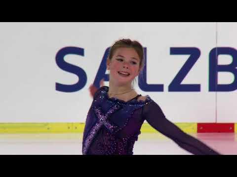 Anastasia TARAKANOVA RUS - Salzburg - Ladies Free Skating  - ISU JGP 2017