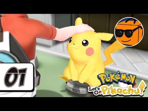 """Pokémon Let's Go, Pikachu! - Episode 1: """"Pikachu, Jeg Velger Deg!"""" (Norsk)"""