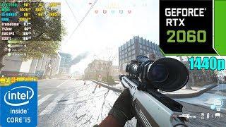 Call of Duty Modern Warfare : Maximum Settings ( RTX ON )  RTX 2060 6GB | 1440p