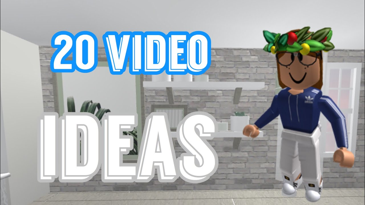 20 Roblox Video Ideas Youtube