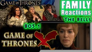 Game of Thrones | 805 | The Bells | FAMILY Reactions | Part 1