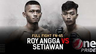 Bantamweight: Roy Angga vs Andre Setiawan | Full Fight One Pride MMA FN 45