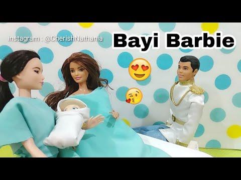 Bayi Barbie 😍 Teresa dan Dokter Barbie Hamil Melahirkan 😁 Cerita Pendek Lucu Mainan Boneka Edukasi