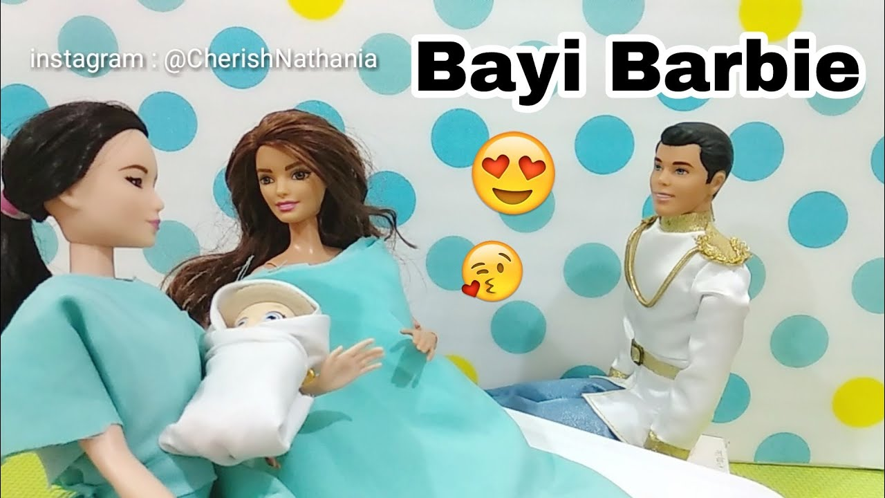Bayi Barbie Teresa Dan Dokter Barbie Hamil Melahirkan Cerita Pendek Lucu Mainan Boneka Edukasi Youtube