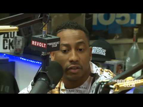 BRANDON T. JACKSON  AT THE BREAKFAST CLUB POWER 105 1