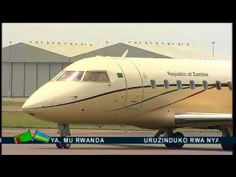 President of Zambia Visits Rwanda-Kigali February 21 2018