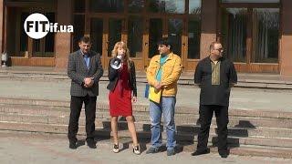У Франківську протестували проти підняття цін та тарифів(FIT.IF.UA повідомляє, що 5 травня 2015 року в Івано-Франківську біля адміністративної будівлі відбувся мітинг-пік..., 2015-05-05T09:04:32.000Z)