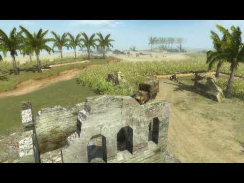 MEN OF WAR - LUZON MAP - BATTLE TEST
