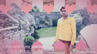 Aaj fir se tere najdik aaya hu...dedicat for my love sanaya....