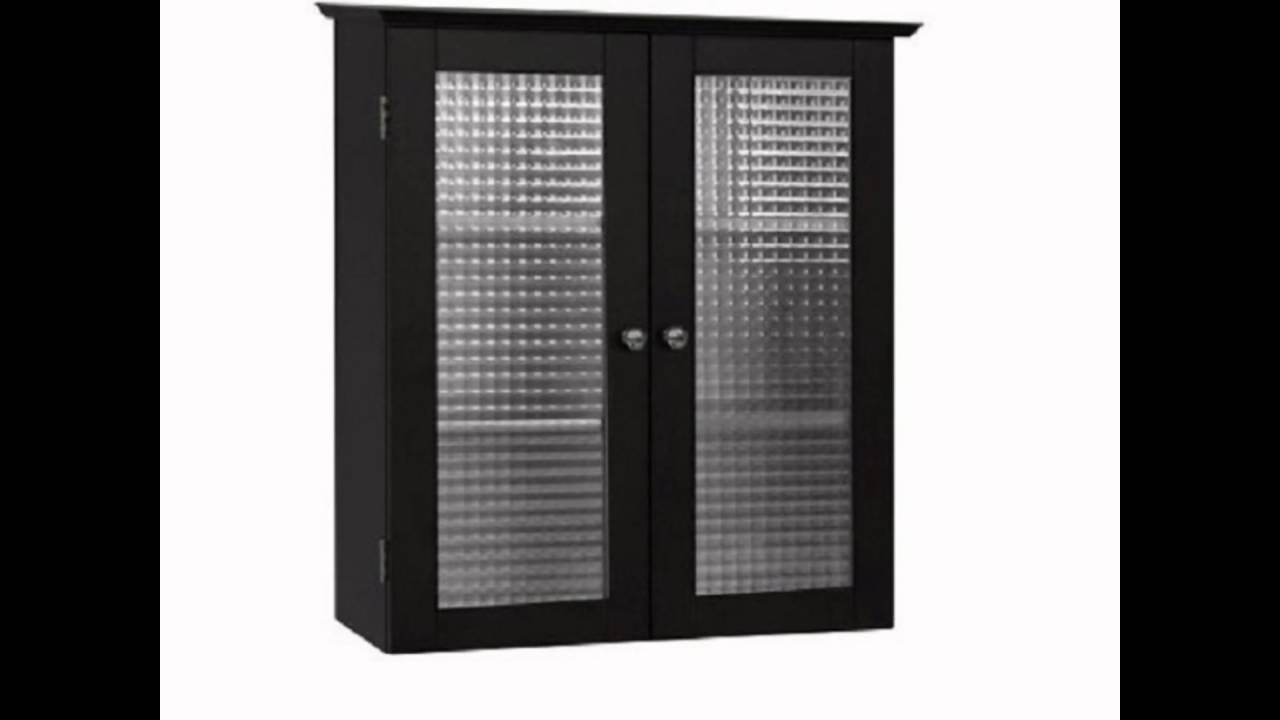 Black bathroom wall cabinet - Black Bathroom Wall Cabinet