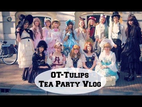 OT-Tulips, an OTT tea party in the Netherlands