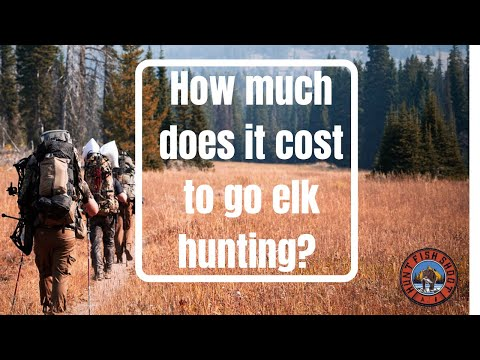Elk Hunting: What To Know Before Your First Hunt – Cost of OTC Elk Hunting
