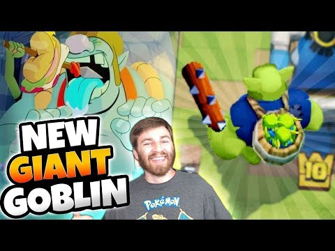 NEW CARD GOBLIN GIANT HAS APPEARED!? | Clash Royale | NEW CARD UPDATE NEWS!